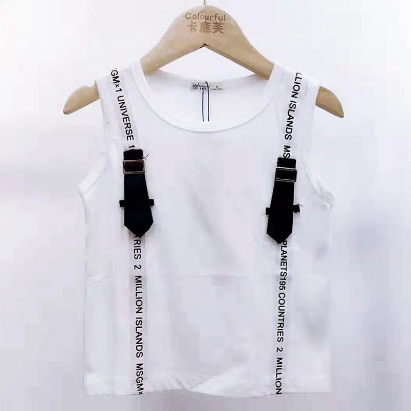 【超级秒杀】卡鹿芙童装 时尚白色短袖 正品保证