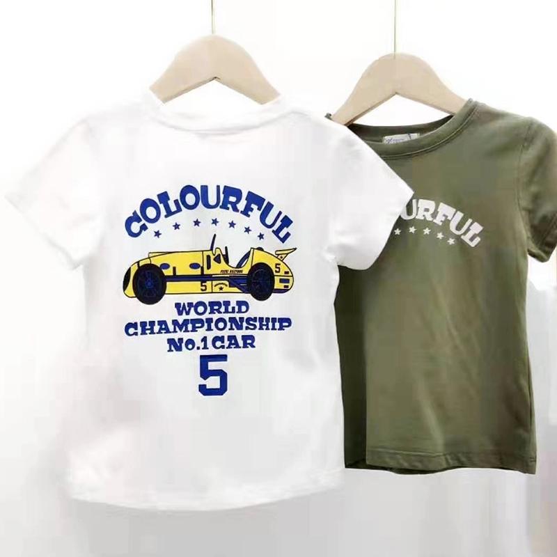 【超级秒杀】卡鹿芙童装 字母图案短袖T恤 正品保证