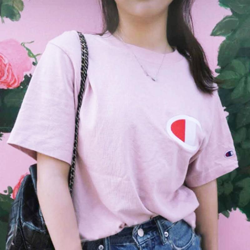 【优选品牌】CHAMPION经典T恤 男女同款C3-F362 专柜验货 正品保障