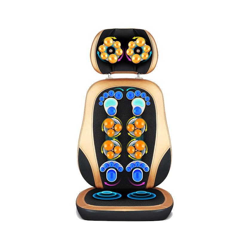 佳仁JR-666-9K摩靠垫多功能按摩椅垫按摩枕按摩器(2K升级版)