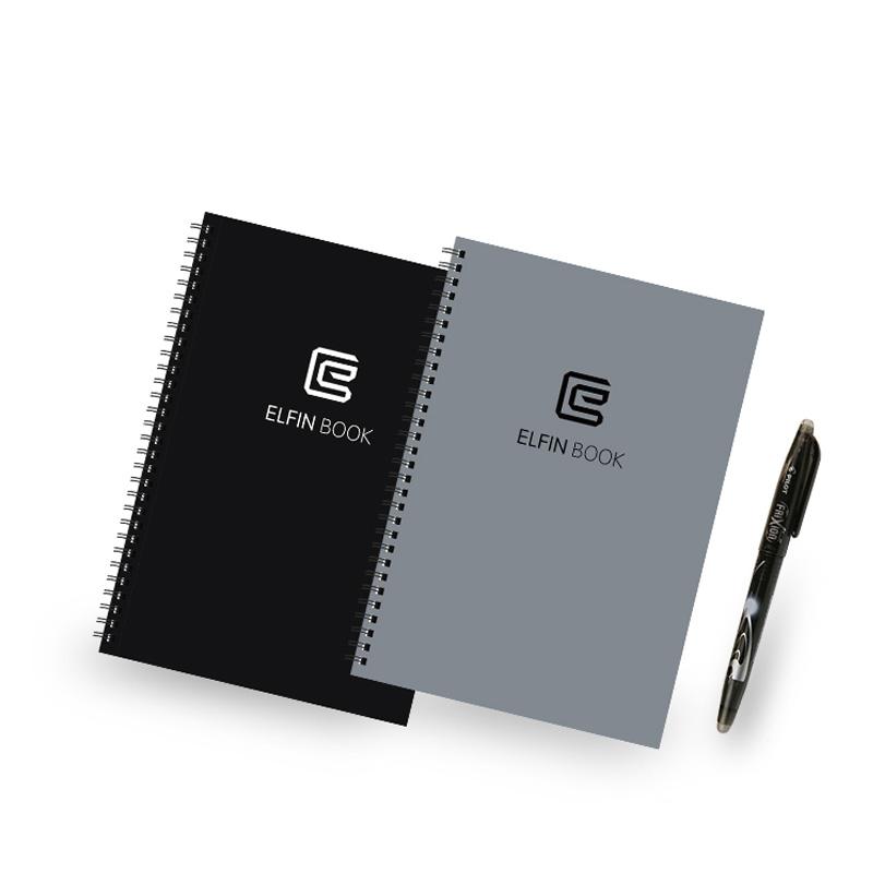 Elfinbook可重复书写笔记本与手机App结合电子智能创意笔记本礼...