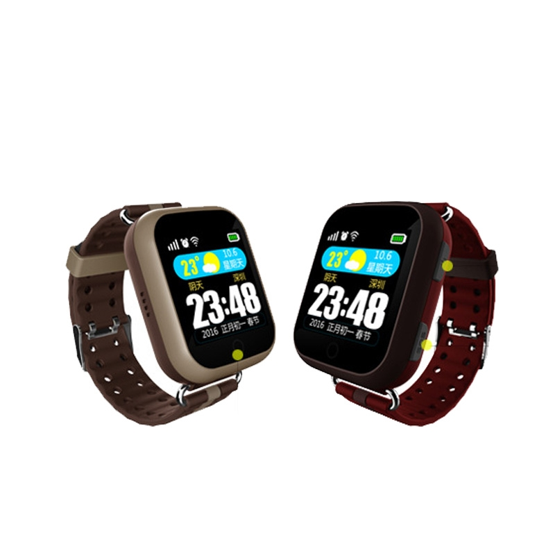 阿科奇新款老人定位手表SW800老人智能血压手表打电话测心率手...