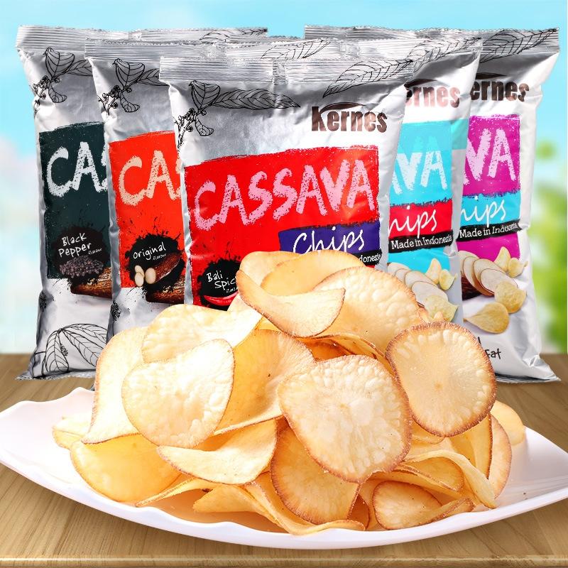 【美食零食】网红爆款 休闲膨化食品 印尼进口零食 60g