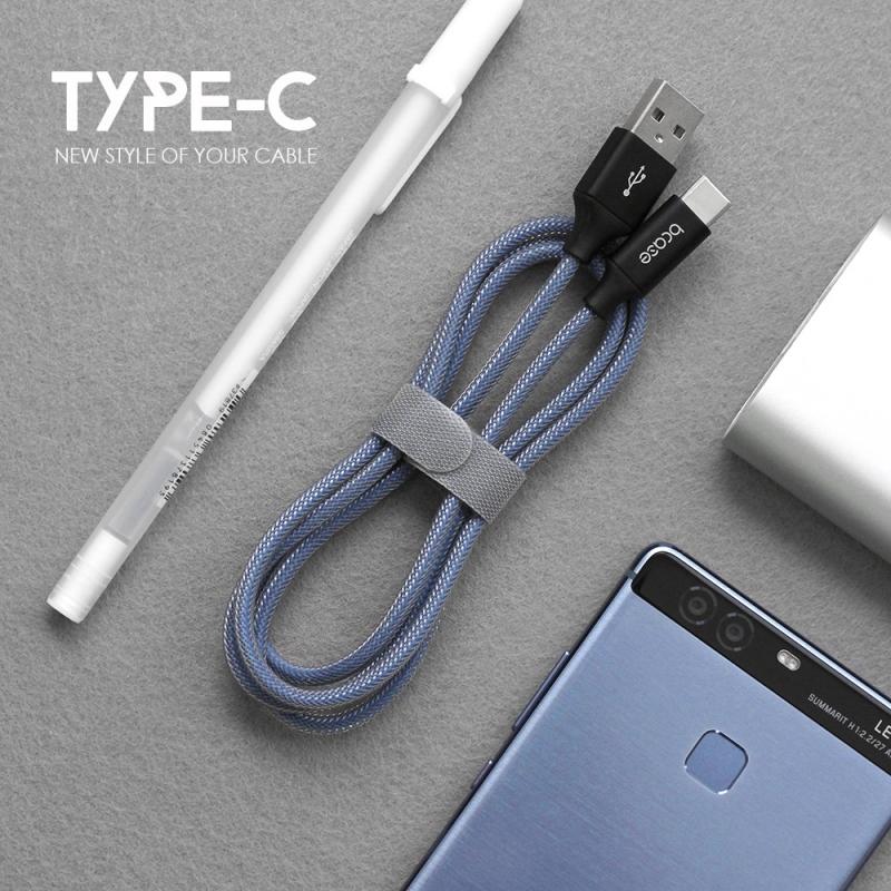 【数码电子】bcase type-c编织数据线 安卓手机充电...