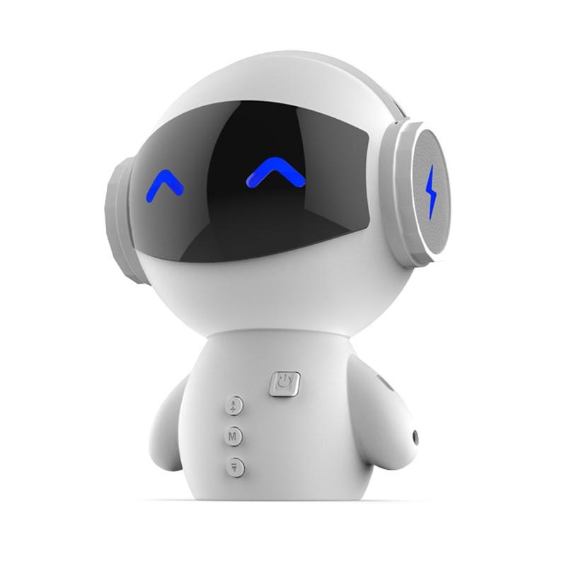 【机器人蓝牙音箱】蓝朗 机器人无线蓝牙音箱新款充...