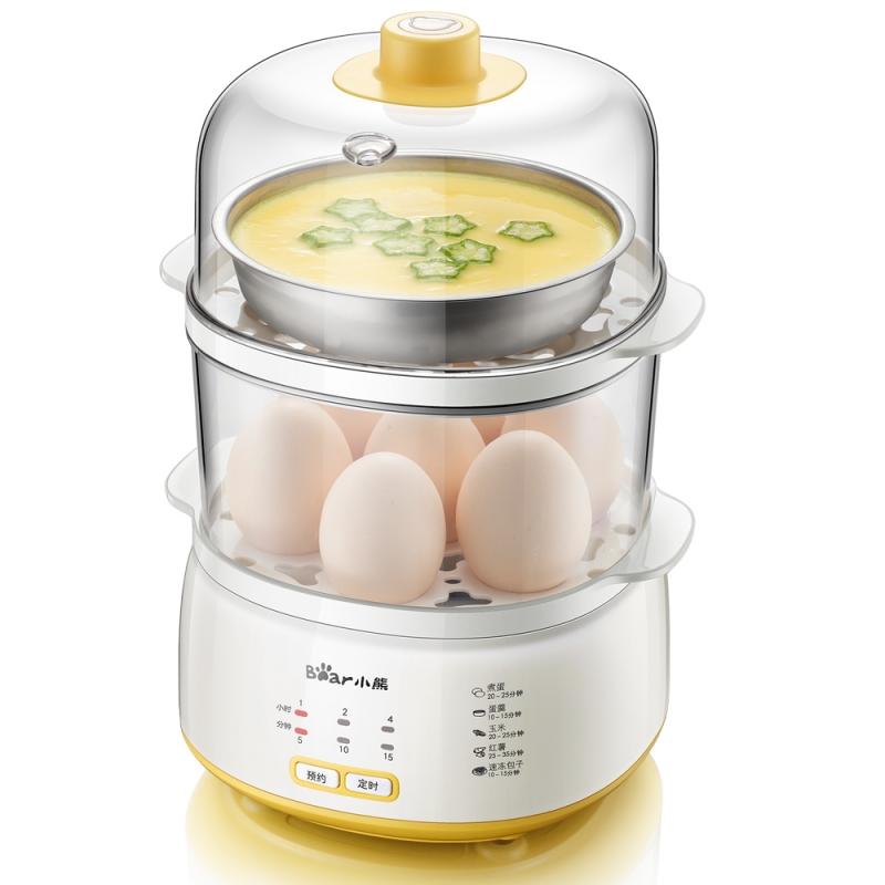 【厨卫电器】小熊ZDQ-C14E1煮蛋器自动断电迷你蒸蛋器小型蒸蛋...