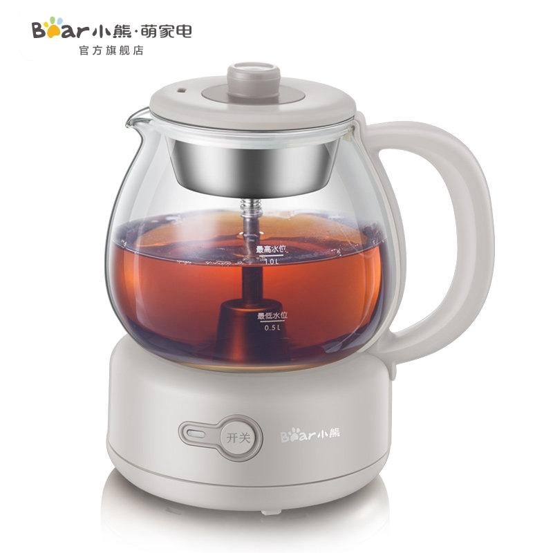 【厨卫电器】小熊煮茶器黑茶普洱玻璃电热水壶蒸茶壶