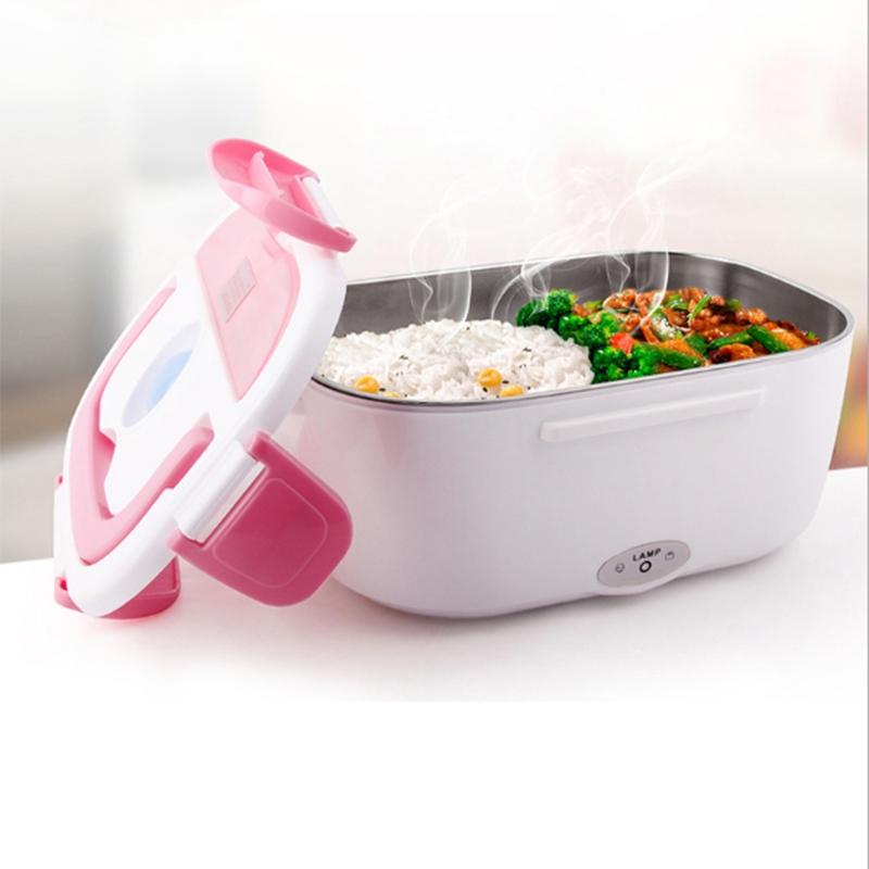 【厨卫电器】JUNJIE骏捷家用110-220V不锈钢内胆可拆洗电热饭盒